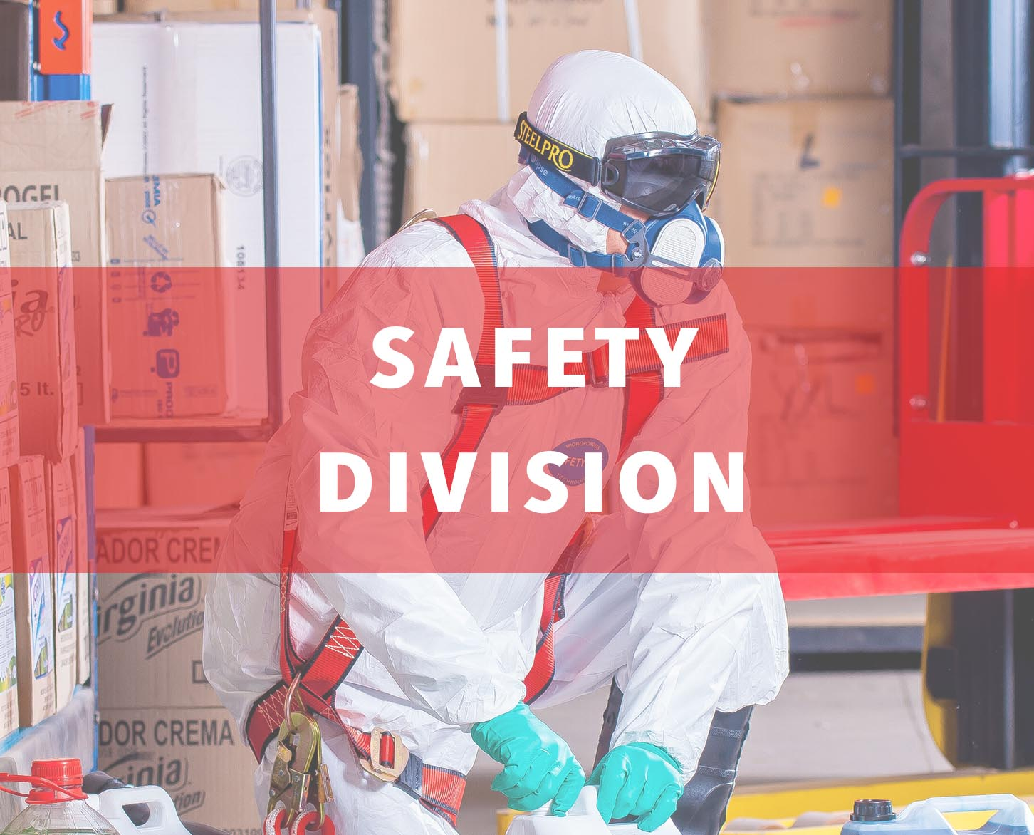 One of our fastest growing lines at Chu's Packaging Supplies is our safety division that includes industrial, medical, and food handling disposable products such as coveralls, bouffant caps, gloves, and face masks. We manufacturer all of these safety items at our own factory to control quality and maintain the best pricing for our customers. In addition to high quality disposable products, our safety division also includes industrial tapes such as barricade tape and vinyl aisle marking tape. We believe that safety comes first and we'll keep you safe.